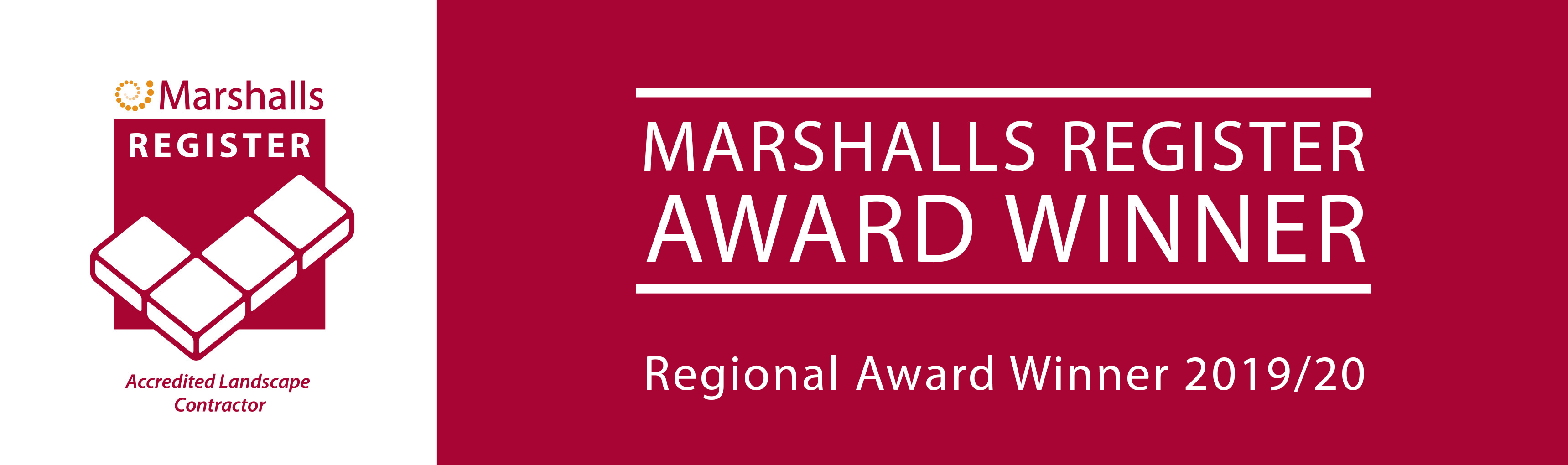 Marshalls Register Regional Awards Banner 2019.20
