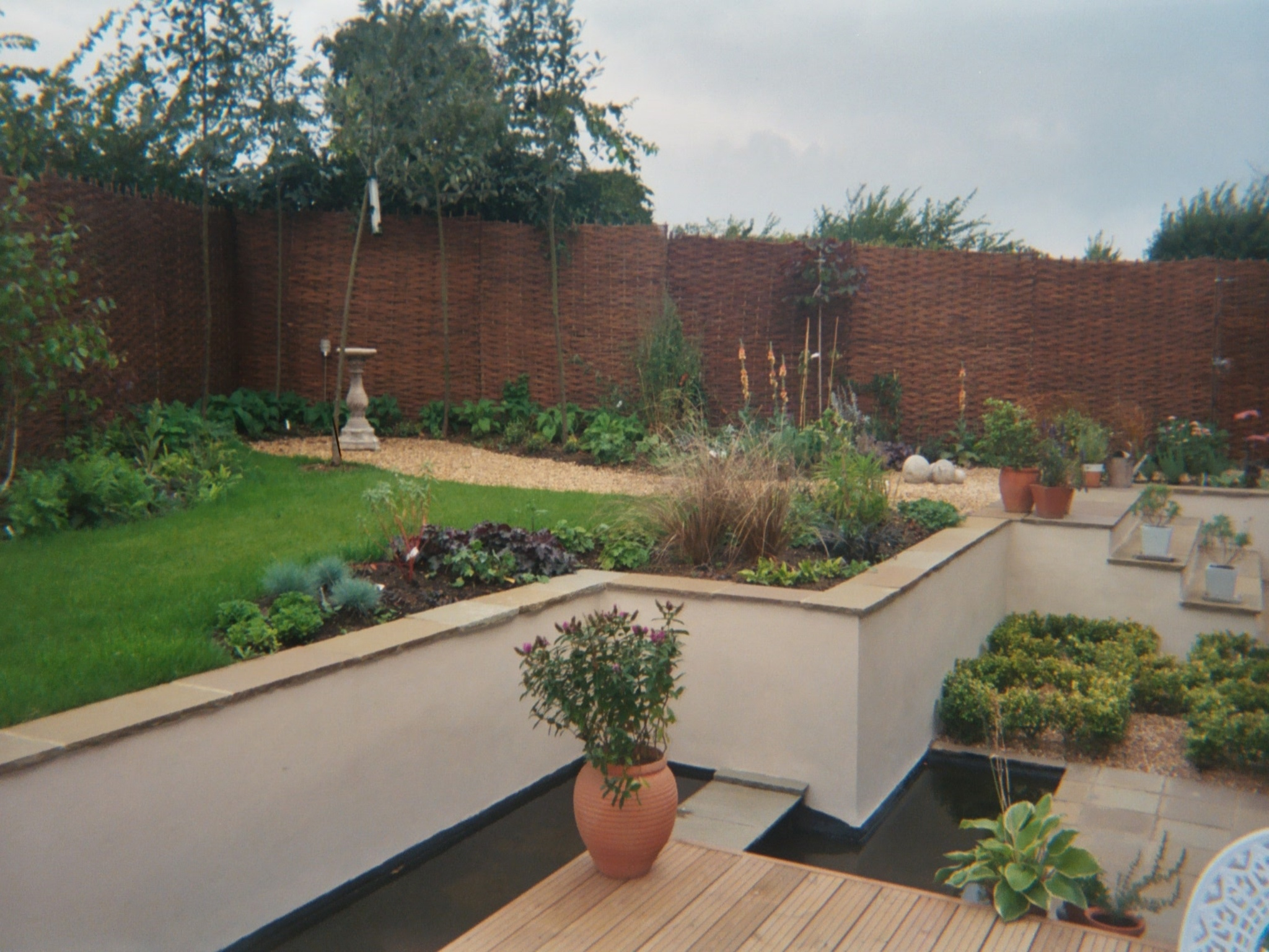 Rendered Garden Wall