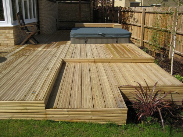 Staggered Decking