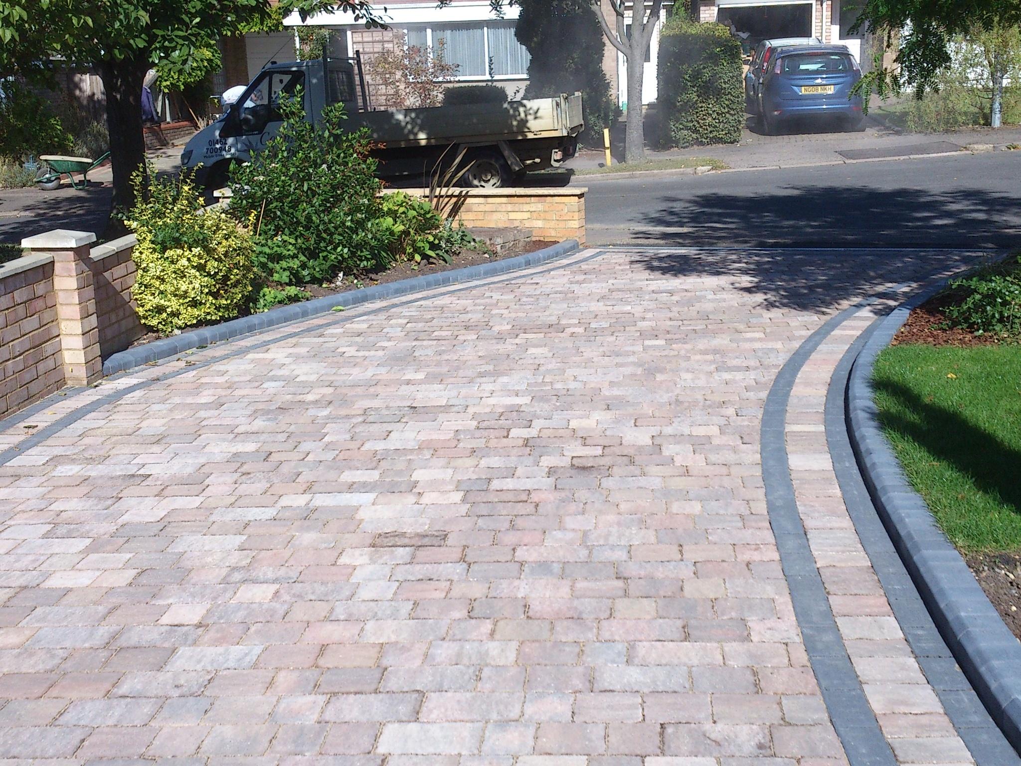 Tegula Block Driveway