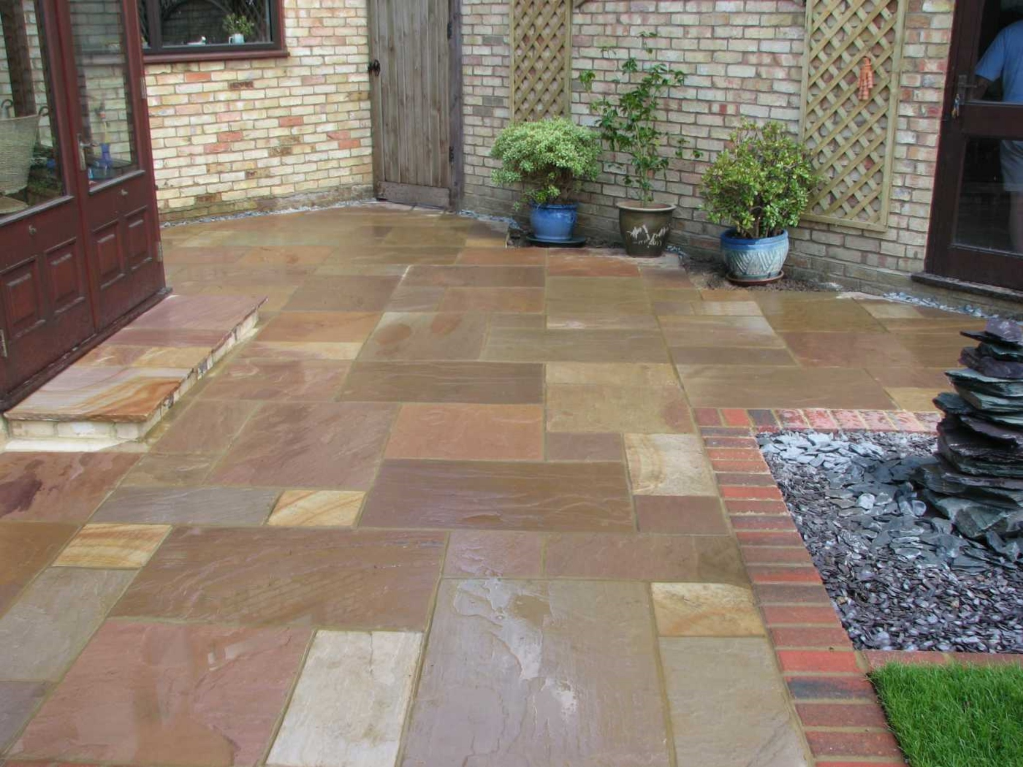 Indian Sandstone Patio
