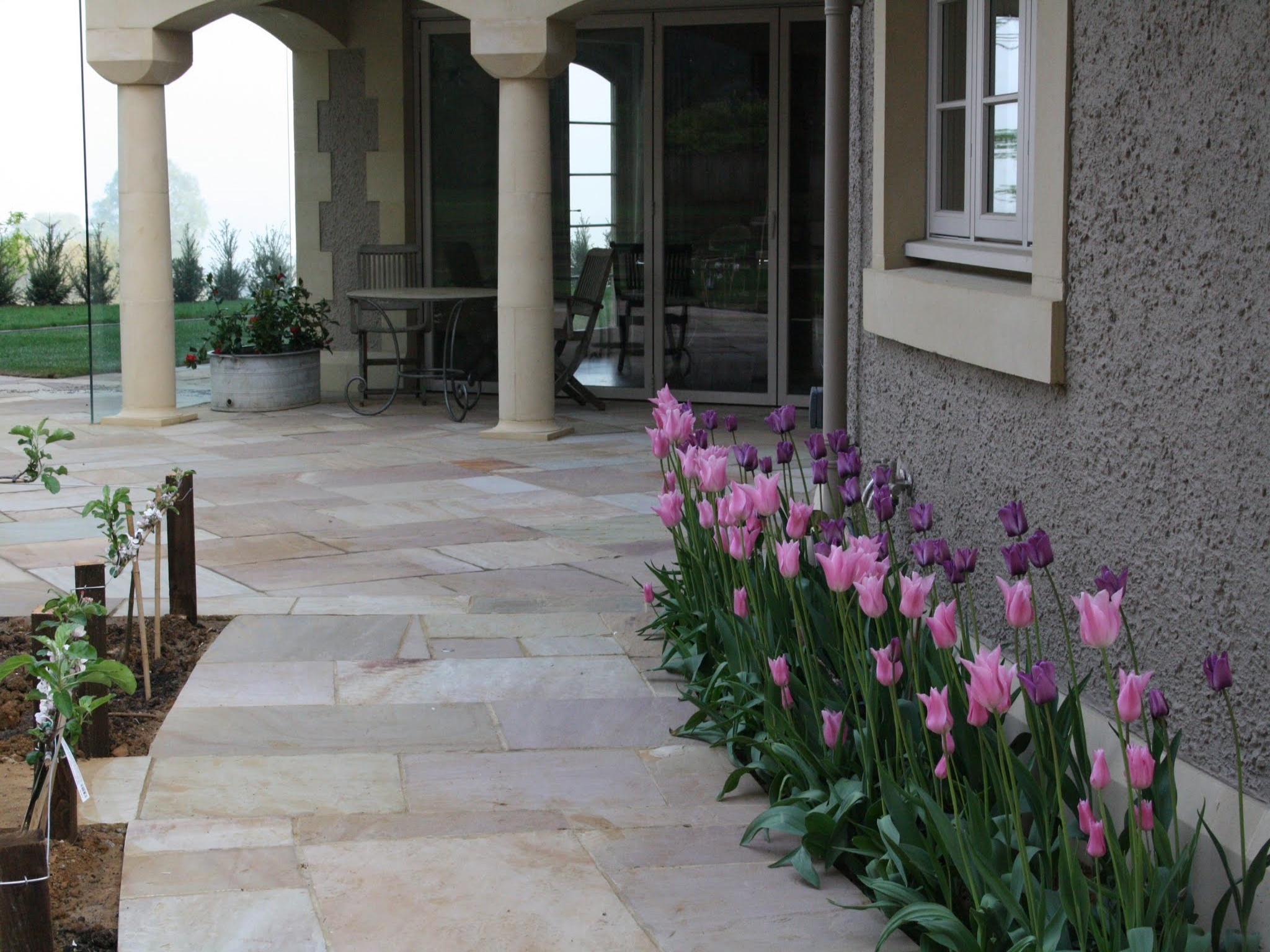 Indian Sandstone Patio & Path