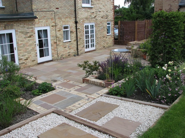 Indian Sandstone Stepping Stones & Patio